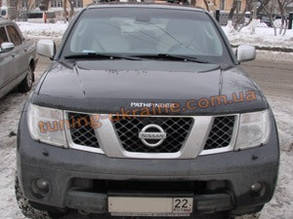 Дефлекторы капота Sim для Nissan Pathfinder 2005-10