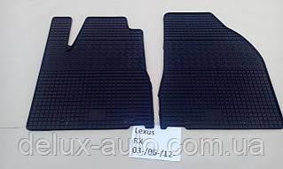 Коврики в салон резиновые Politera 2шт. для Lexus rx 3 al10 2012-2015