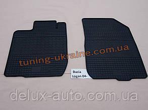 Коврики в салон резиновые Politera 2шт. для Dacia Duster 2010+