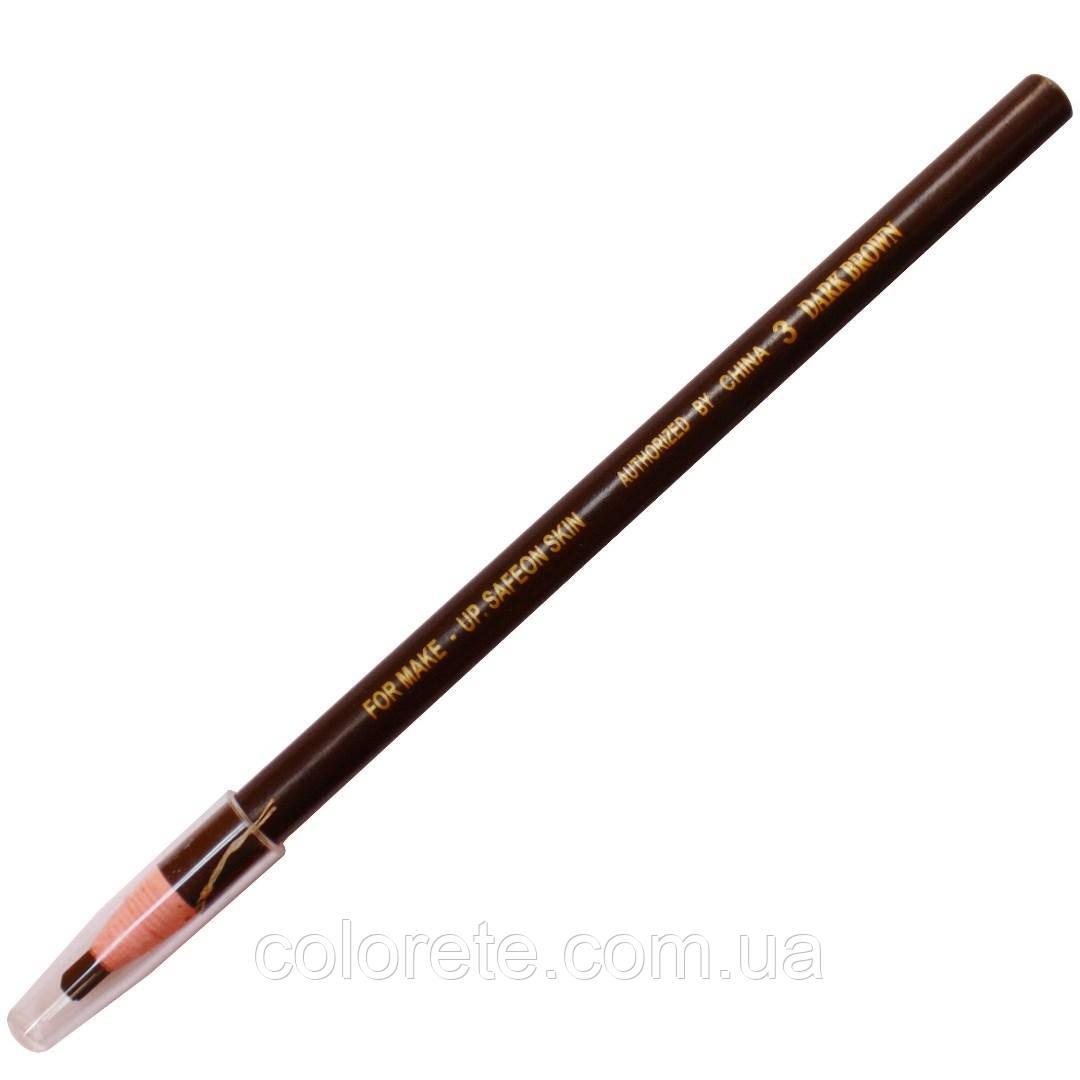 Карандаш разметочный водостойкий Dark Brown