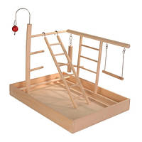 Trixie Wooden Playground игровая площадка для птиц 34х26х25см (5655)