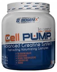 Предтренировочный комплекс  Biogenix Cell Pump 490g Orange