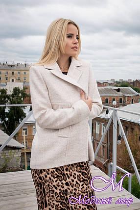Кашемировое женское осеннее пальто (р. S, M, L) арт. Белладжио 6382 - 43699, фото 2