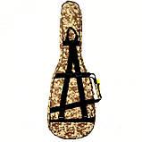 Чехол HW-WG41 цвет камуфляж для акустической гитары, утеплитель 5 мм, фото 2