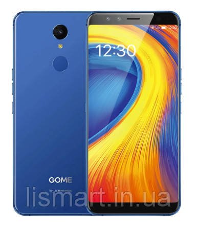 Смартфон GOME U7 4/64Gb Blue + силиконовый чехолНет в наличии