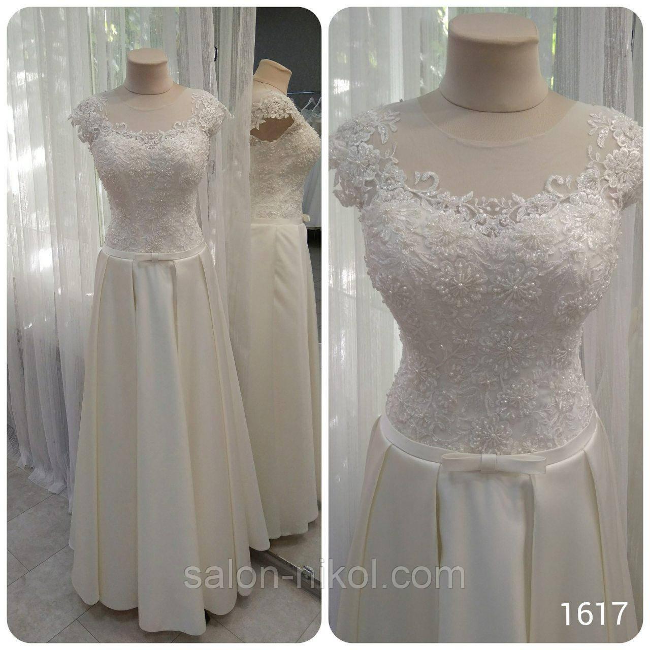 Свадебное платье 16-17