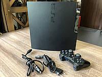 Ігрова приставка Sony PS 3 Slim CECH-2508B 500GB. Прошита + 35 ігор, фото 1