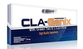 Жиросжигатель Biogenix Cla-Genix 60caps