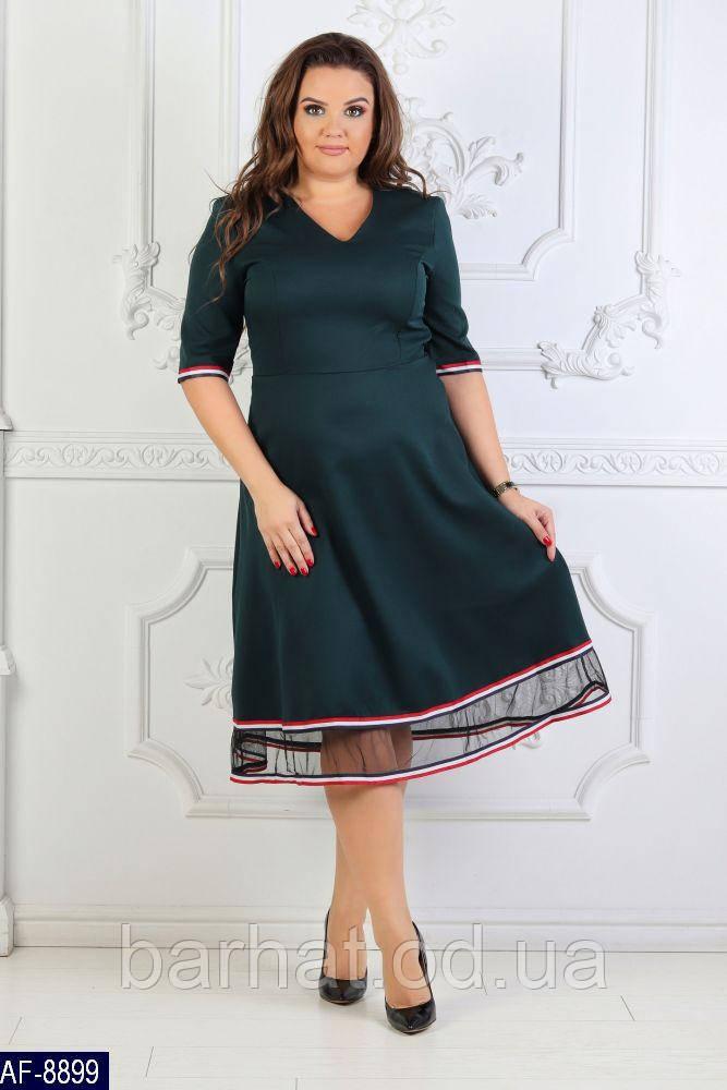 Платье для пышных форм 48, 50 р-р.