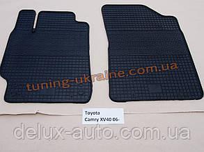 Коврики в салон резиновые Politera 2шт. для Toyota Camry XV40 2006-2011