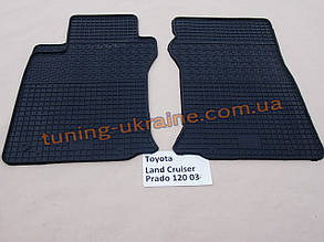 Коврики в салон резиновые Politera 2шт. для Lexus gx470 2003-2010
