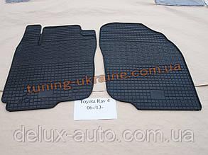 Коврики в салон резиновые Politera 2шт. для Toyota RAV4 2006-2010