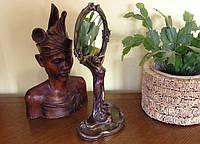 Коллекционное женское зеркало Veronese Девушка 10374A4