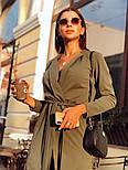 Женский кардиган с поясом и брюки (в расцветках), фото 2