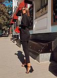 Женский кардиган с поясом и брюки (в расцветках), фото 3