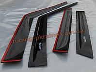 Дефлекторы окон (ветровики) ANV для Chevrolet Cruze 2011-12 хэтчбек 5-ти дверный