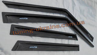Дефлекторы окон (ветровики) ANV для Kia Rio 3 2011-15 седан
