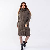 Женское пальто Indigo N 005T OLIVE