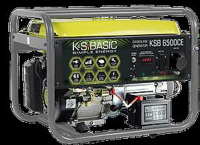 Генератор бензиновый K&S Basic KSB 6500CE (5,5 кВт)