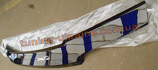 Дефлектор капота (мухобойка ANV) для Kia Ceed 2 wagon на скобах материал россия