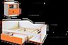 Кровать Санта (ламели)