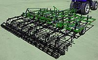 Пружинные и зубовые шлейфы 1,0м, 3секции под почвообрабатывающие агрегаты