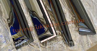 Дефлекторы боковых окон (ветровики) AutoClover для Hyundai Accent 4 2011 хэтчбек
