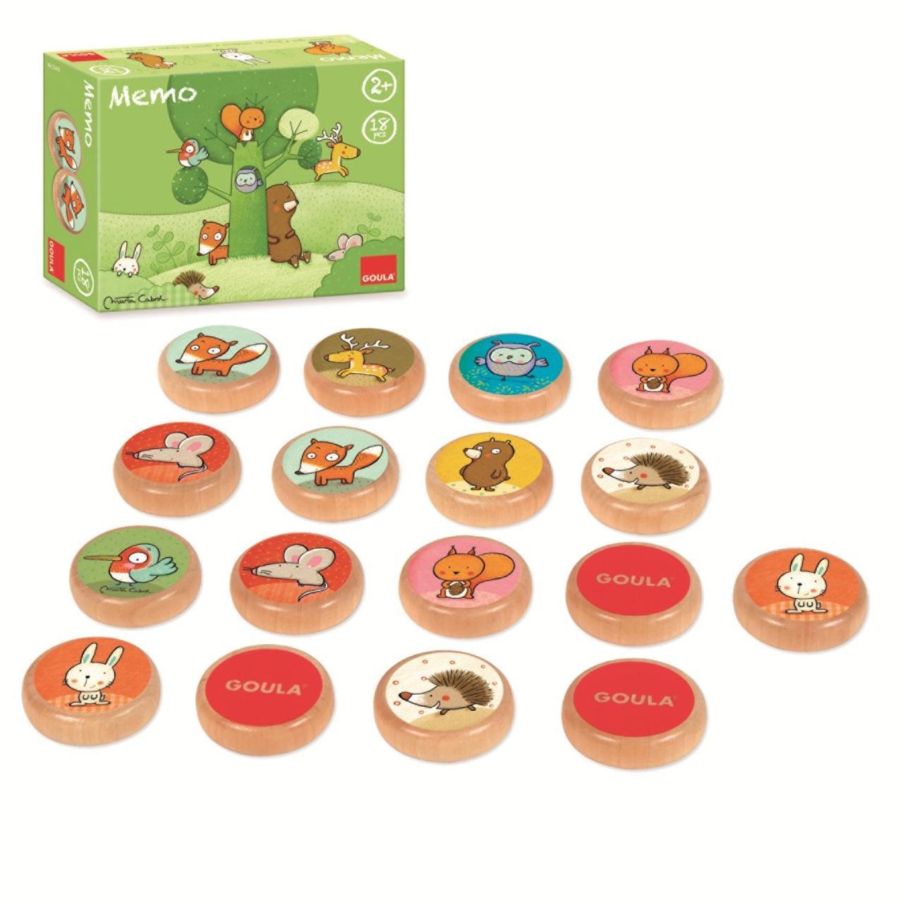 Гра Jumbo Games Goula  - Том та його лісові друзі