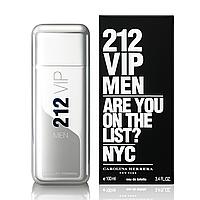 Мужская туалетная вода Carolina Herrera 212 MEN Vip 100 ml (Каролина Эррера 212 Мэн Вип)