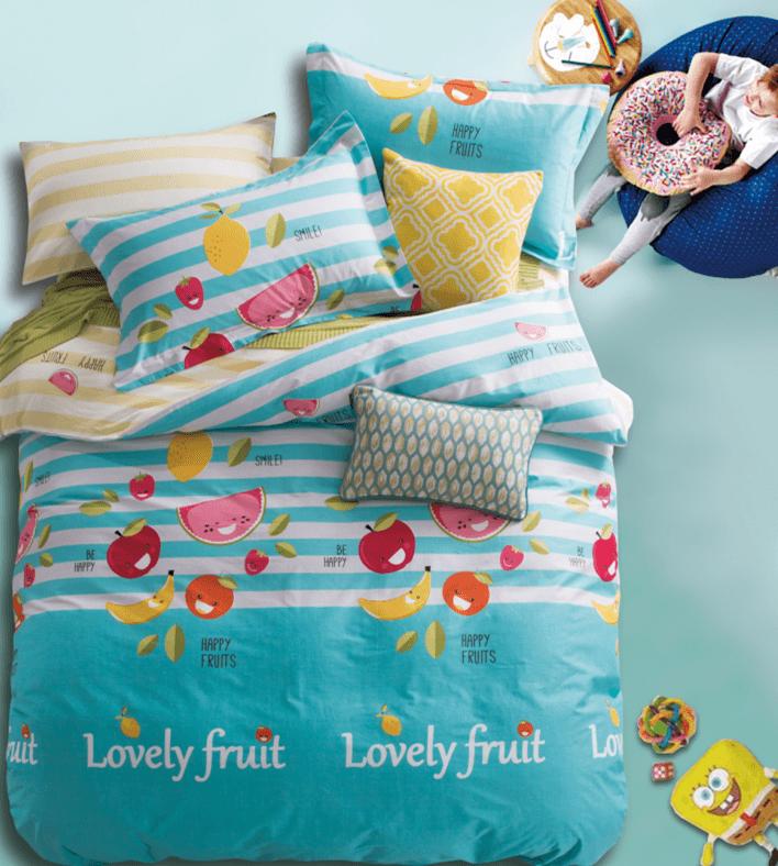 Постельное белье «Любимые фрукты»