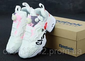 Женские кроссовки Reebok Insta Pump Fury XOXO (белые)