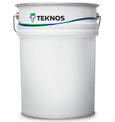Антикорозійна фарба алкідна TEKNOLAC COMBI 50 (Base 1 - біла), фото 2