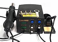 Паяльная станция термовоздушная, турбинная, двухканальная Lukey 898 (Фен, паяльник, 900M, 750Вт), фото 1