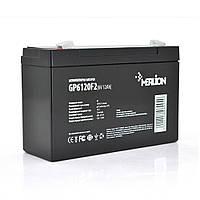 Аккумулятор 6В 12Ач Merlion AGM GP612F2