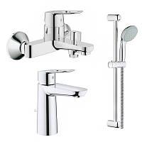 Набір змішувачів для ванни GROHE BauLoop (23762000+23603000+27598001)