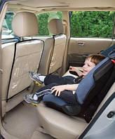 Защита спинки переднего сиденья авто от детских ног Черная