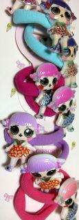 Резинка для волос L.O.L детская Куколка Лол RD-2889 (20шт)