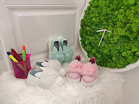 Слипоны мокасини детские на девочку  весна-осень  бирюзовые  21 р., фото 3
