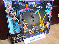 Кукла Monster High 13 Wishes Oasis Cleo De Nile Doll & Playset Клео де Нил 13 желаний, фото 1