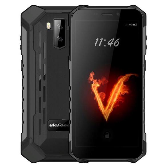 Защищенный противоударный неубиваемый смартфон Ulefone Armor X3 - 5,5 дюймов, 2/32Gb,MT6580, Android 9, 0,