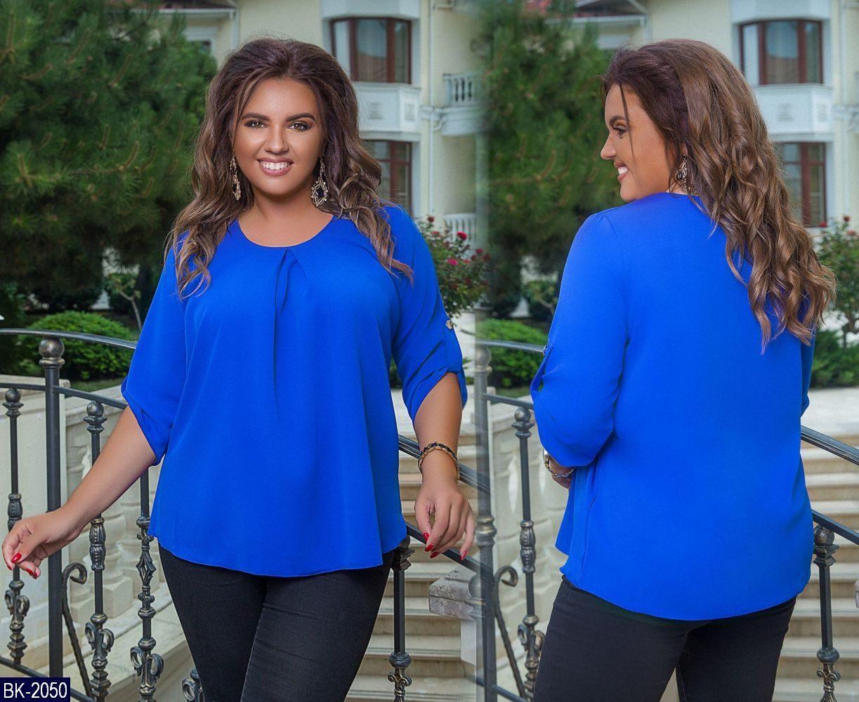 Блуза женская батал Шик, фото 1