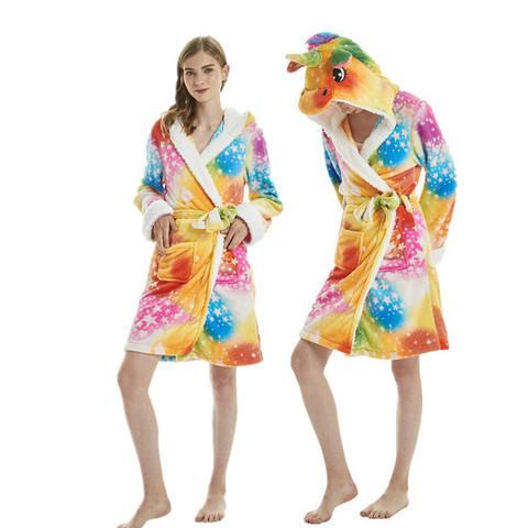 Молодежный халат кигуруми 227