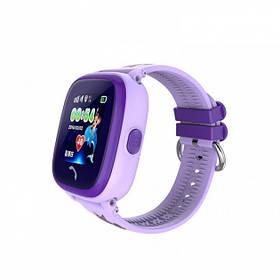 Детские умные водонепроницаемые смарт-часы с GPS DF25 Aqua