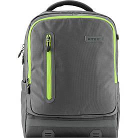 Рюкзак школьный ортопедический для мальчика 6-10 лет Kite Trendy светоотражающие элементы, серый