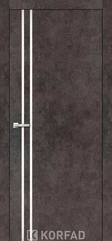 Двери KORFAD щитовые ALP-01, полотно+коробка+1к-т наличников, эко-шпон Sincrolam, фото 2