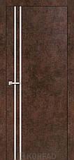 Двери KORFAD щитовые ALP-01, полотно+коробка+1к-т наличников, эко-шпон Sincrolam, фото 3