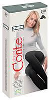 Жіночі теплі   колготки Conte CASHMERE 250 з віскози з кашеміром 250 den