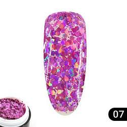 Glitter gel 5 грамм  Global Fashion 07