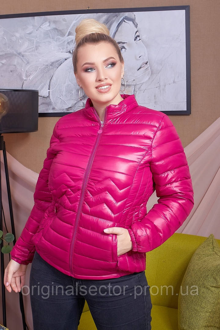 Осенняя женская куртка 46-54 размеры