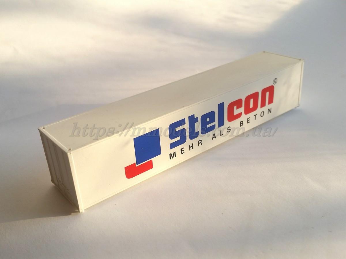 """Аксесуары для железнодорожного моделирования - Контейнер 40 футовый """" Stelcon """""""